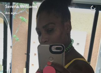 Serena, PREGNANT